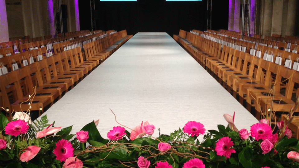 Catwalk Hire 1 with carpet